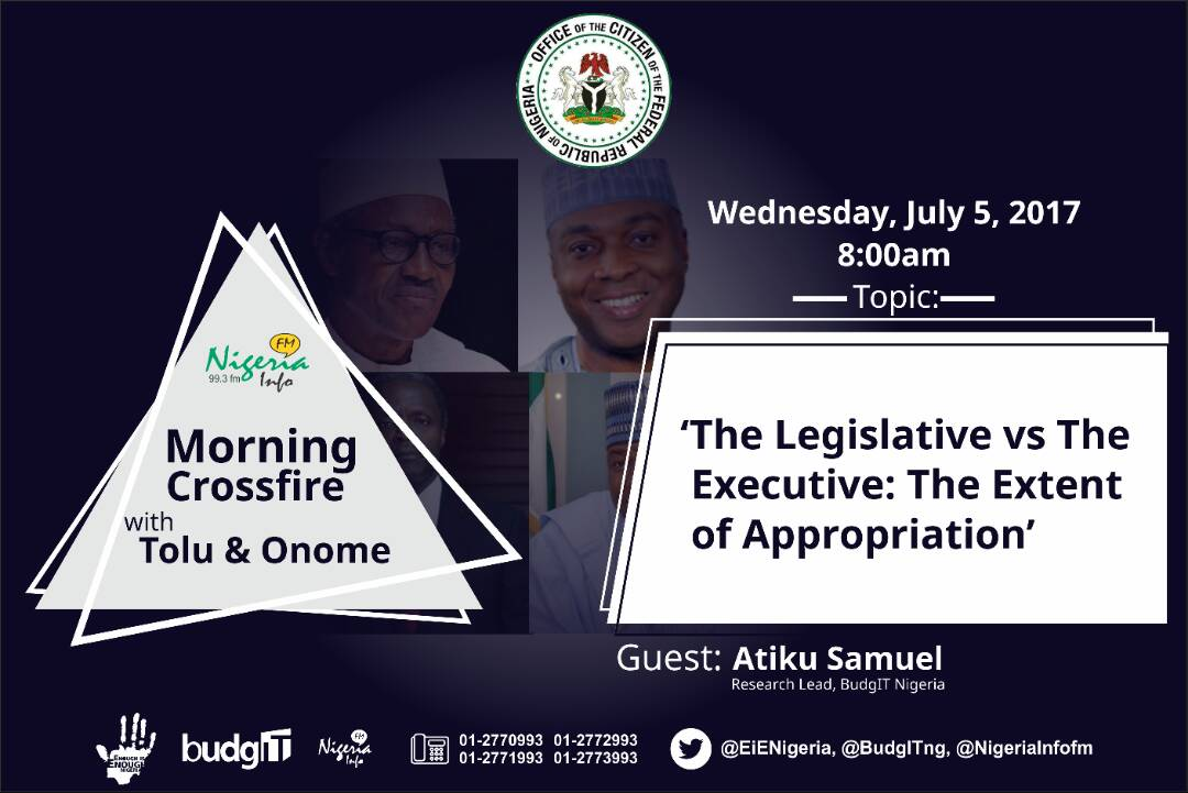 Thumbnail for #OfficeOfTheCitizen - The Legislative vs. The Executive: The Extent of Appropriation