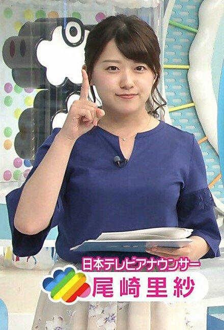 日本テレビアナウンサー尾崎里紗