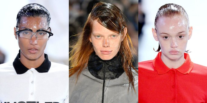 Did the Models at Hood By Air Wear an X-Rated Essential On Their Faces?