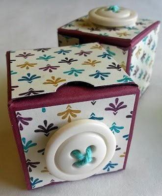 CUTE AS A . . . BUTTON BOXES!