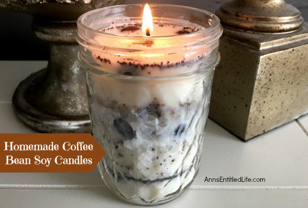 Homemade Coffee Bean Soy Candle