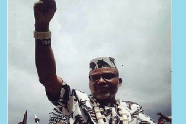 As news filtered in that Nnamdi Kanu was passing through Douglas road to Mbaise road en route Umuahia, the crowd surged, persons numbering over million