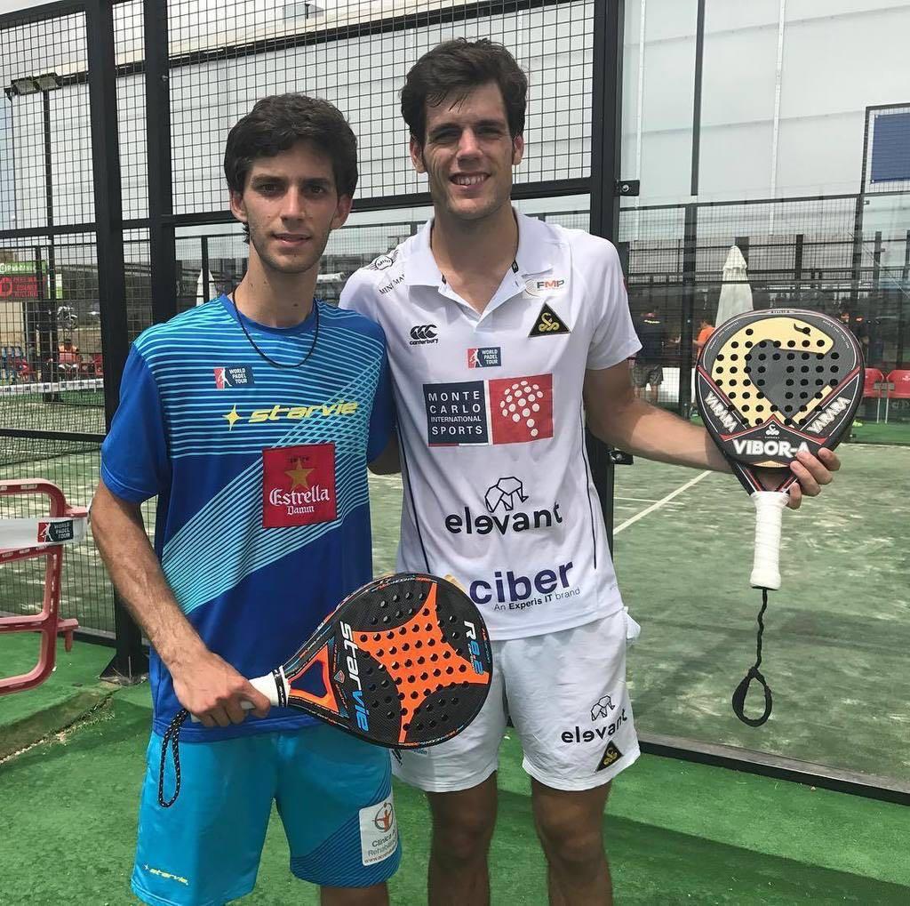 Maty Marina y Javi Concepción debutaron con victoria