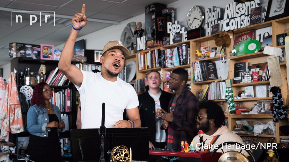 It's time: Watch Chance The Rapper's (@chancetherapper) #TinyDesk performance now. https://t.co/TaPRnFTFAZ