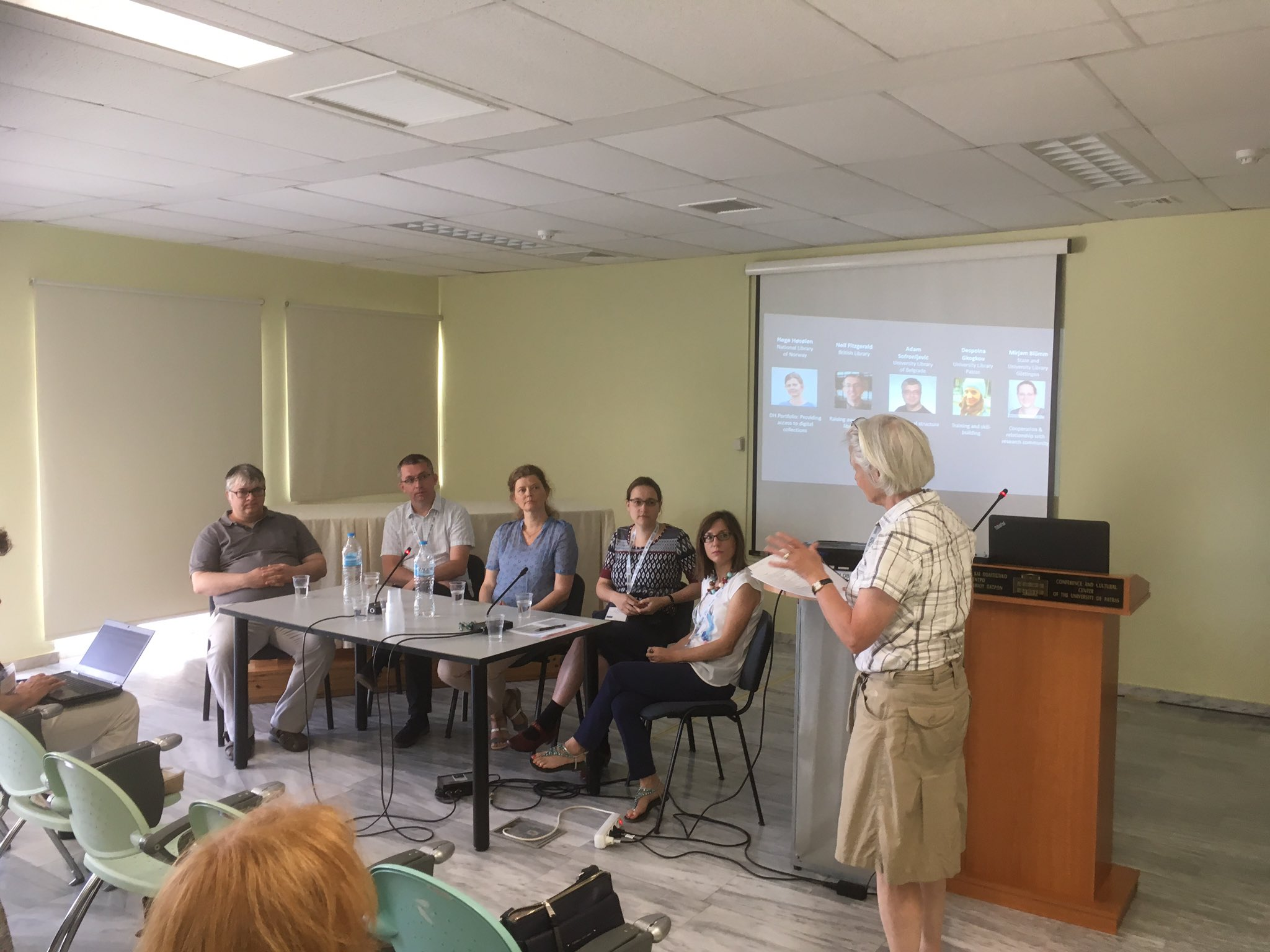 Panel in session! #dhandlib #liber2017 'If you had to choose one thing to advise others, what would it be?' @adamsofronije says #OCR & #TDM https://t.co/Kb7amoH2Tl