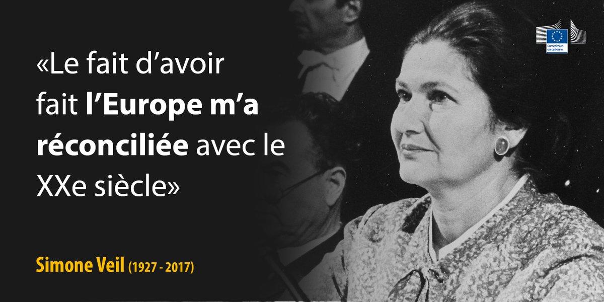 .@JunckerEU :'Elle avait su par son engagement politique contribuer à bâtir une paix durable en Europe' https://t.co/AWg0w8KmYe #SimoneVeil