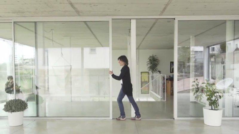en corto el ciclo de de ventanas technal