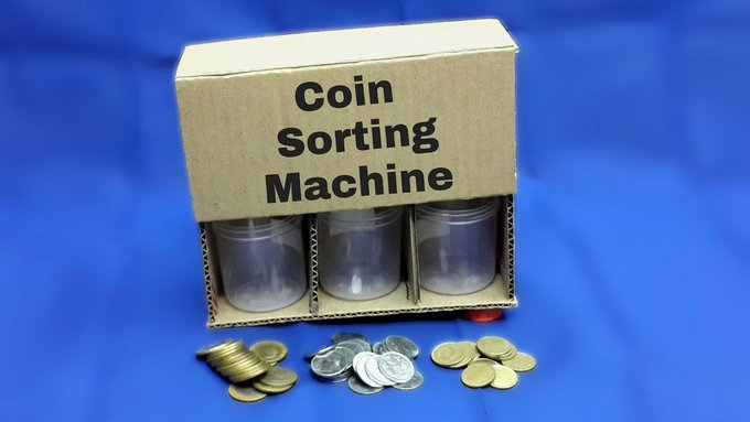 How to Make a Coin Sorting Machine – DIY Coin Sorter