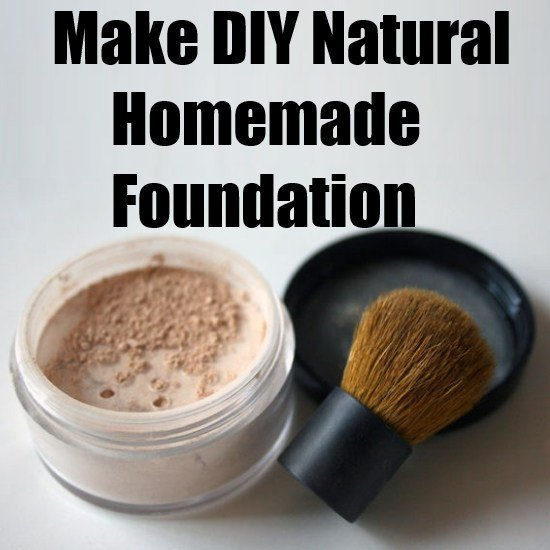 How To Make DIY All Natural Homemade Foundation