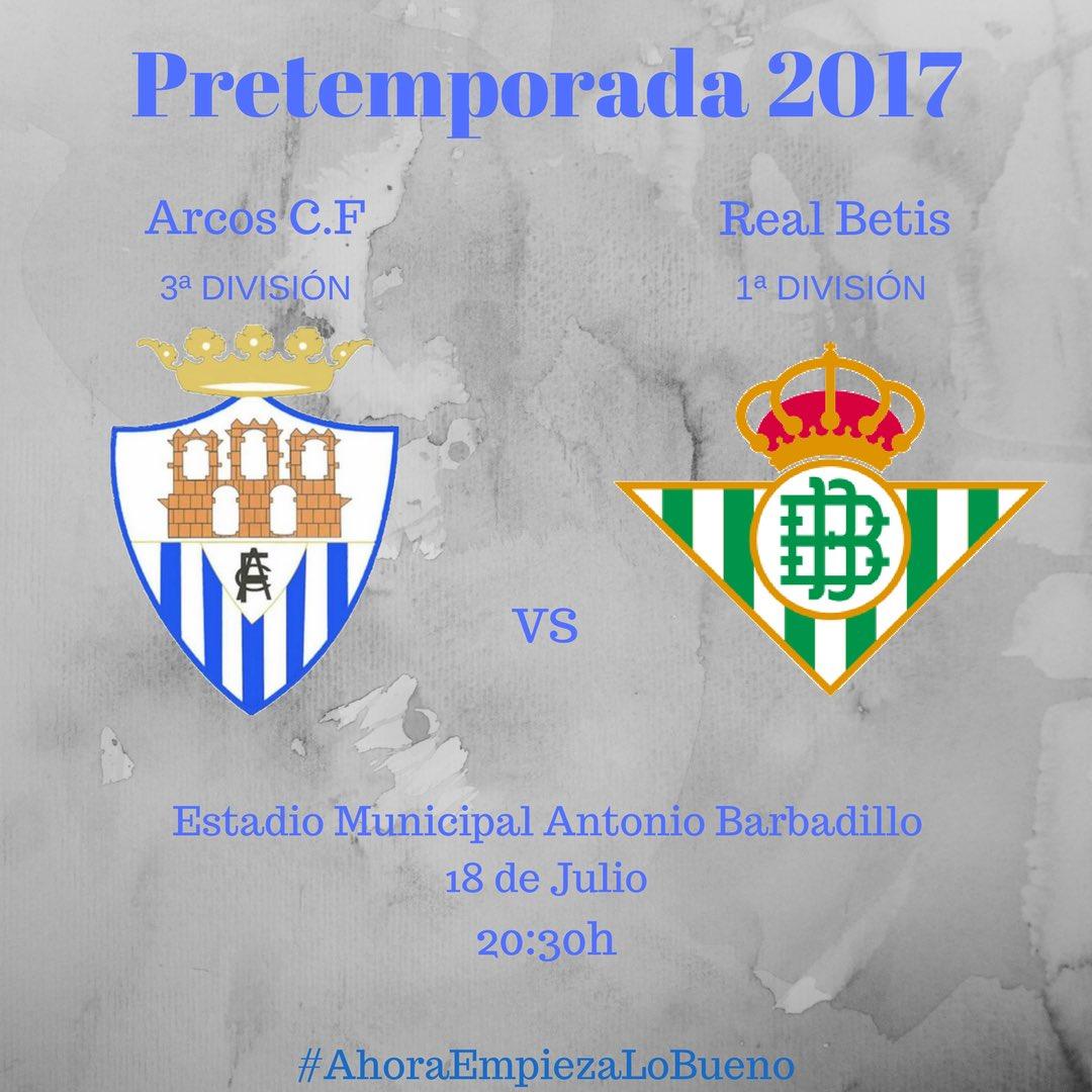 Arcos Cf - Real Betis | Martes 18/07 a 20h30 | BetisTV DD9pRdfW0AIVgrm