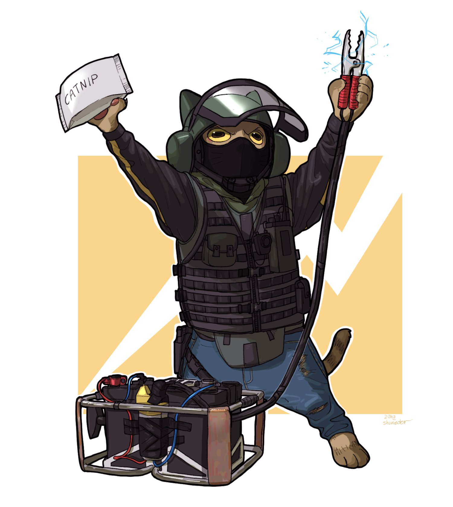 Rainbow six siege on twitter the meowperators are back - R6 siege echo ...