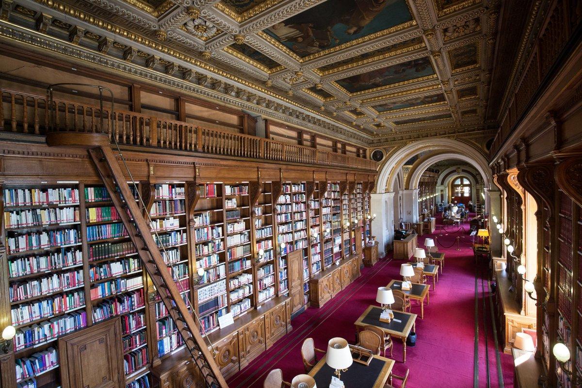 Depuis 1837, la #bibliothèque du #Sénat recueille de nombreux ouvrages sur des thèmes variés #booksMW 👉 https://t.co/02OW4CMT7Y