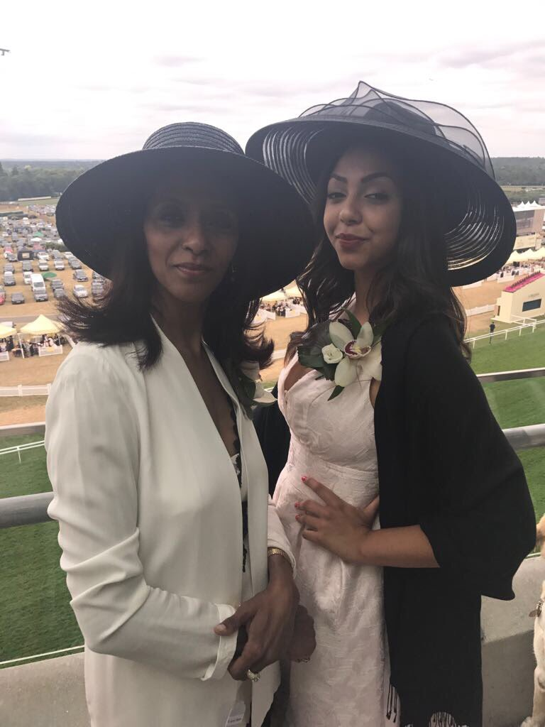 Zeinab Badawi On Twitter At Royal Ascot With My Daughter Hannah Look At This Spread Glad I Have A Sweet Tooth We Re Lucky To Be In A Box In The Royal Enclosure