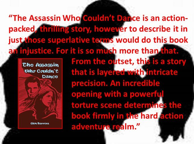 &quot;Action, mateship and love.&quot; - The Assassin Who Couldn&#39;t Dance  http:// amazon.com/dp/B00ZVEMVW0  &nbsp;     #sismif #RCAP #WINAUTHORS #BooksGS #thriller <br>http://pic.twitter.com/kxYhQYdYtH