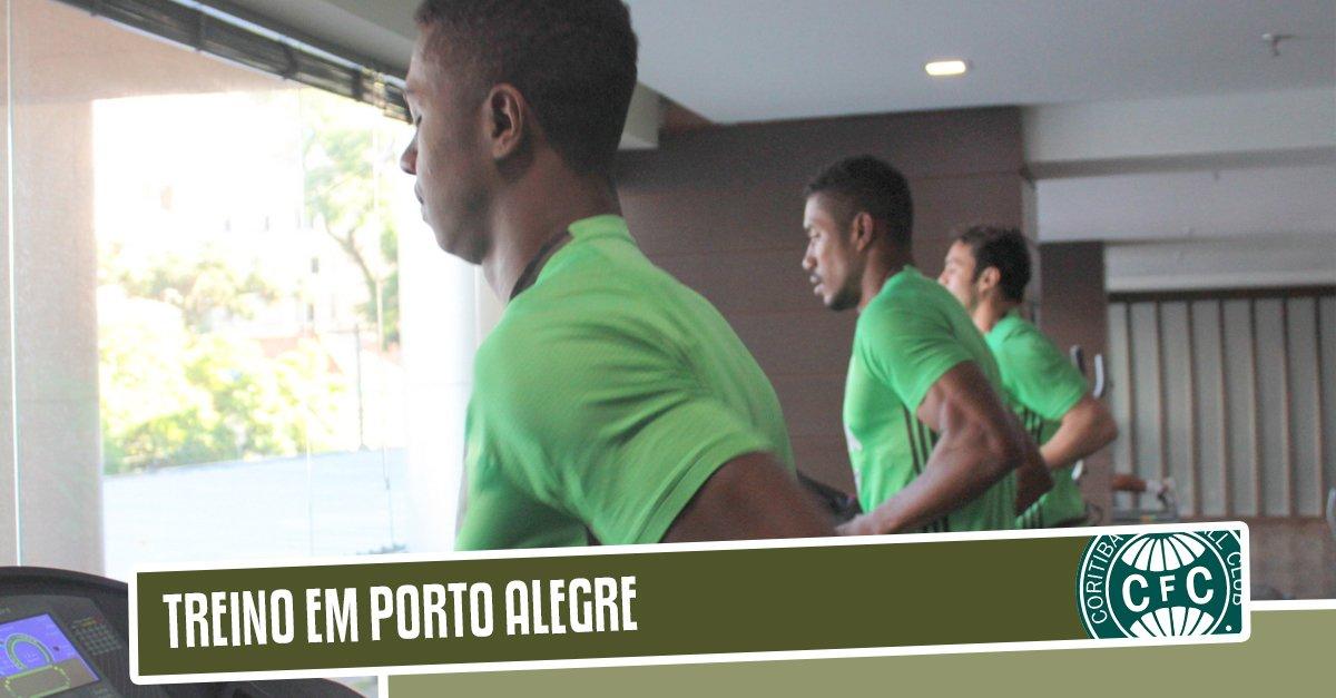 Antes de viajar para BH, elenco treina em Porto Alegre nesta manhã: https://t.co/VA5cpkS0O8