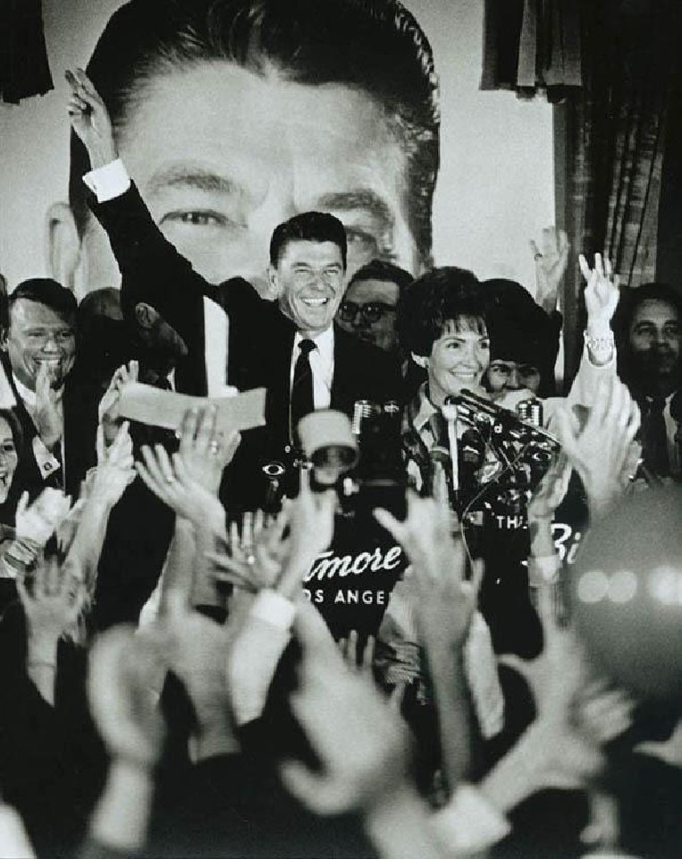 Fifty years ago today, Ronald Reagan captured the hearts and minds of America\'s youth
