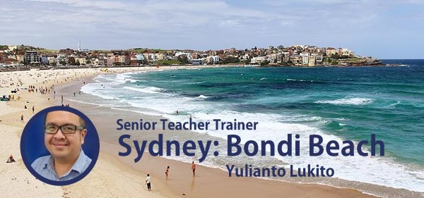 Yulianto Lukito Senior Teacher Trainer at Bondi Beach gives advice on CELTA. Also TEFL jobs:  http:// mailchi.mp/studycelta/iat efl-2017-senior-teacher-training-jobs-young-learner-classroom-management-teacher-interview-part-ii-1536102 &nbsp; …  #bondi #celta <br>http://pic.twitter.com/Zdi12aPZlt