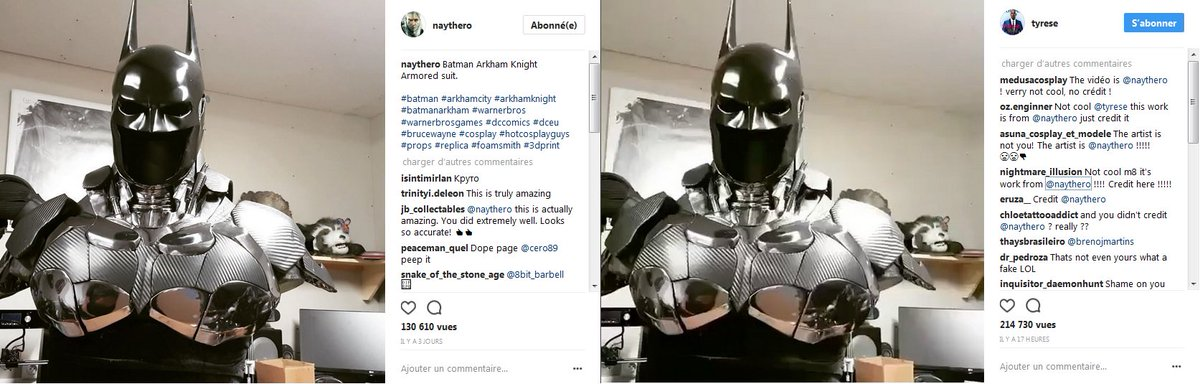 Good vision of @Tyrese for stealing work from @French_Raiden ... #plagiat #Copyright #voleur #vol #THIEF #plagiarism #plagiarism2017<br>http://pic.twitter.com/t9aKn09Qs0