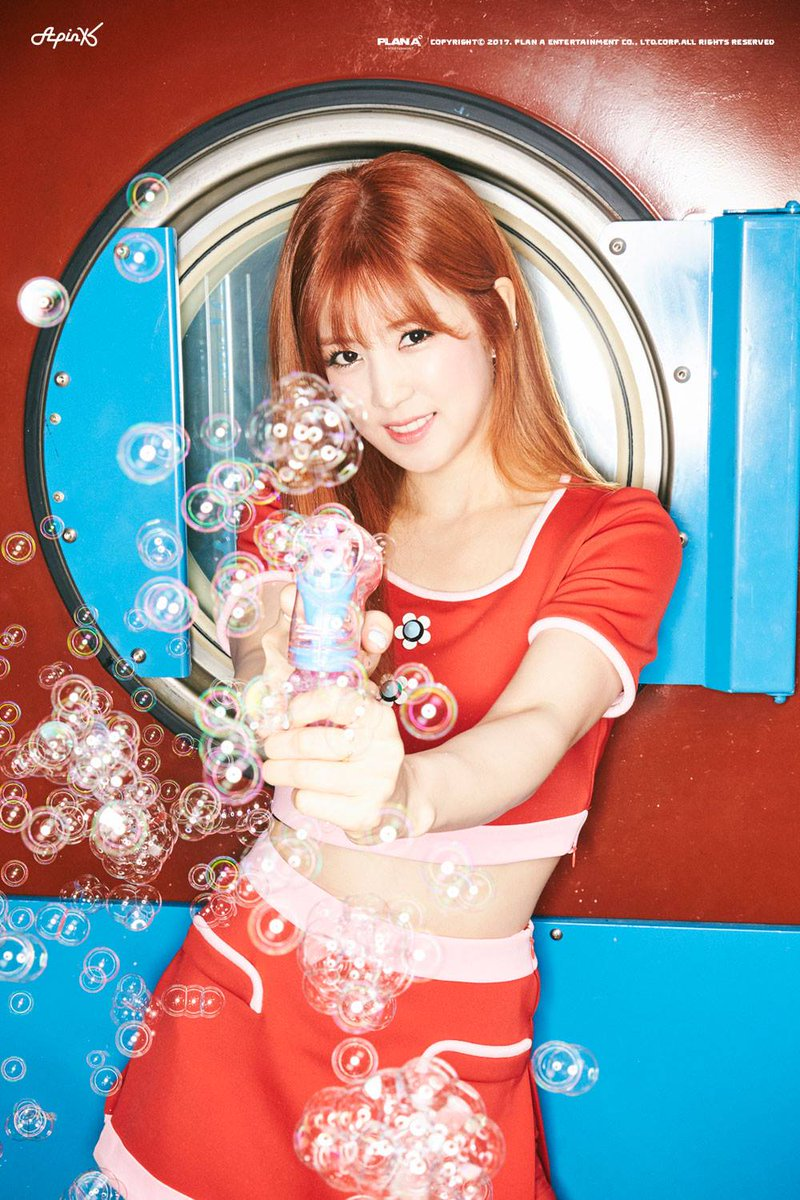 A Pink unveil new teaser images of Chorong for \'Pink UP\'