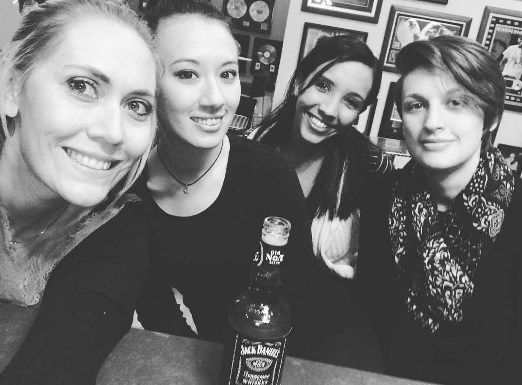 Last Friday in the old offices!! Celebrating new big things #Colleagues #Morgan #Jina #Rochelle #Kerry<br>http://pic.twitter.com/SWwo4Dh2sj