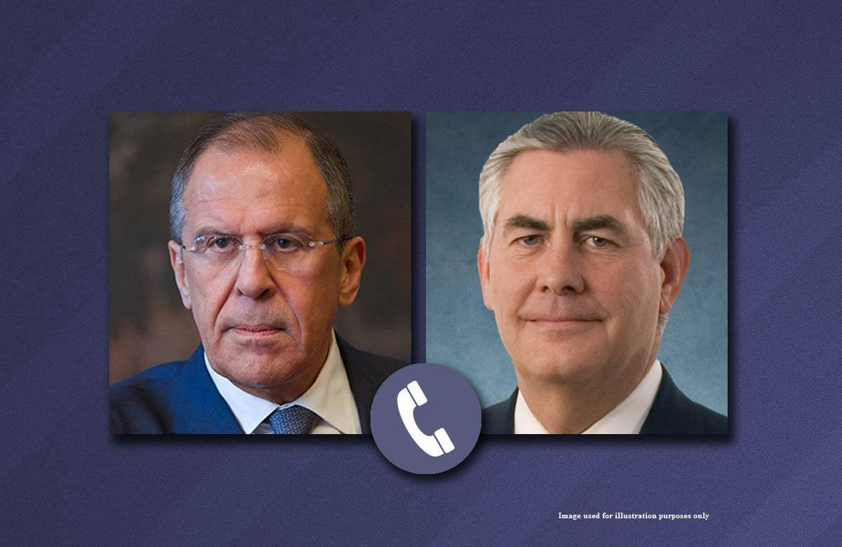 Lavrov to Tillerson: attempts to influence Russia with new sanctions futile and risky. Planned MFA consultations postponed.
