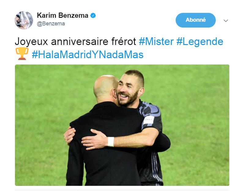 Actu Foot On Twitter Karim Benzema Souhaite Un Joyeux