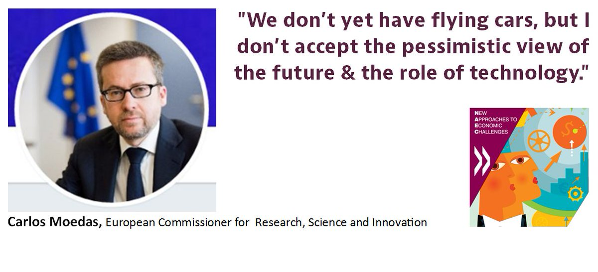 &quot;We are on the cusp of a new wave of #innovation that will have an even greater impact on productivity growth&quot; @Moedas #OECD #GoingDigital<br>http://pic.twitter.com/fUjCw39uFc
