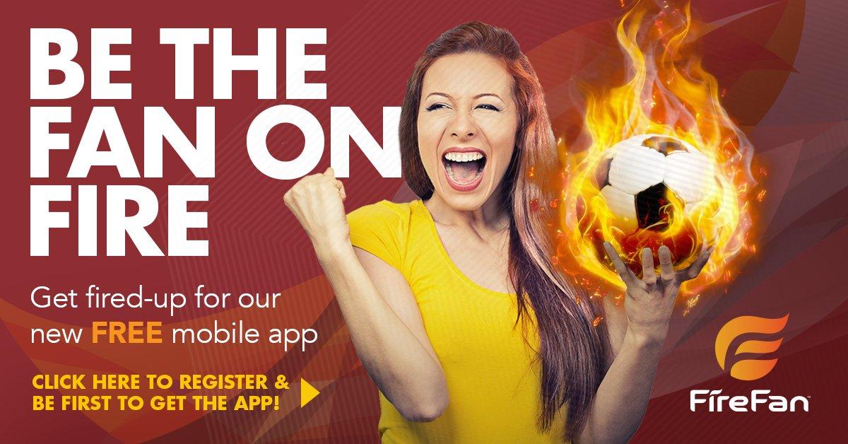 Hungry for a new #SportsApp? Get #FireFan FREE! https://t.co/l4NlTuAPA...