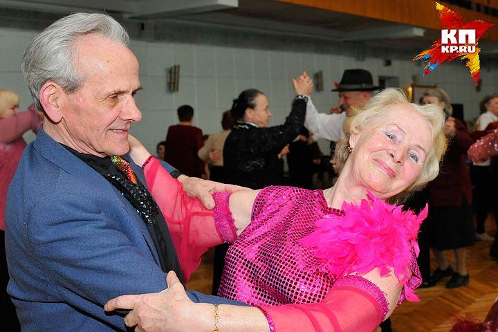 пожилых людей танцы знакомства для