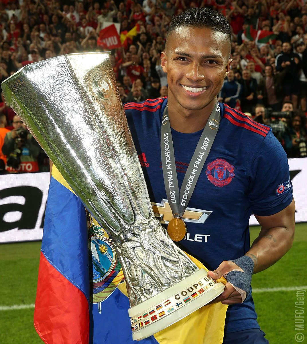 We're counting down @Anto_V25's top five achievements with #MUFC so fa...