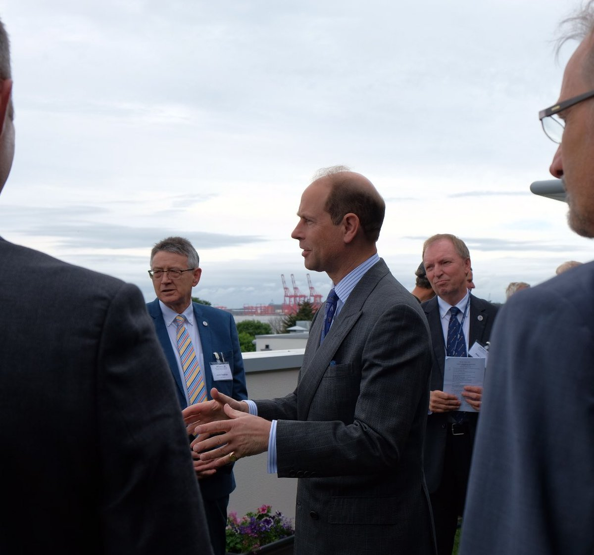 HRH opened the new @Seafarers_UK centenary wing accommodation hub and...