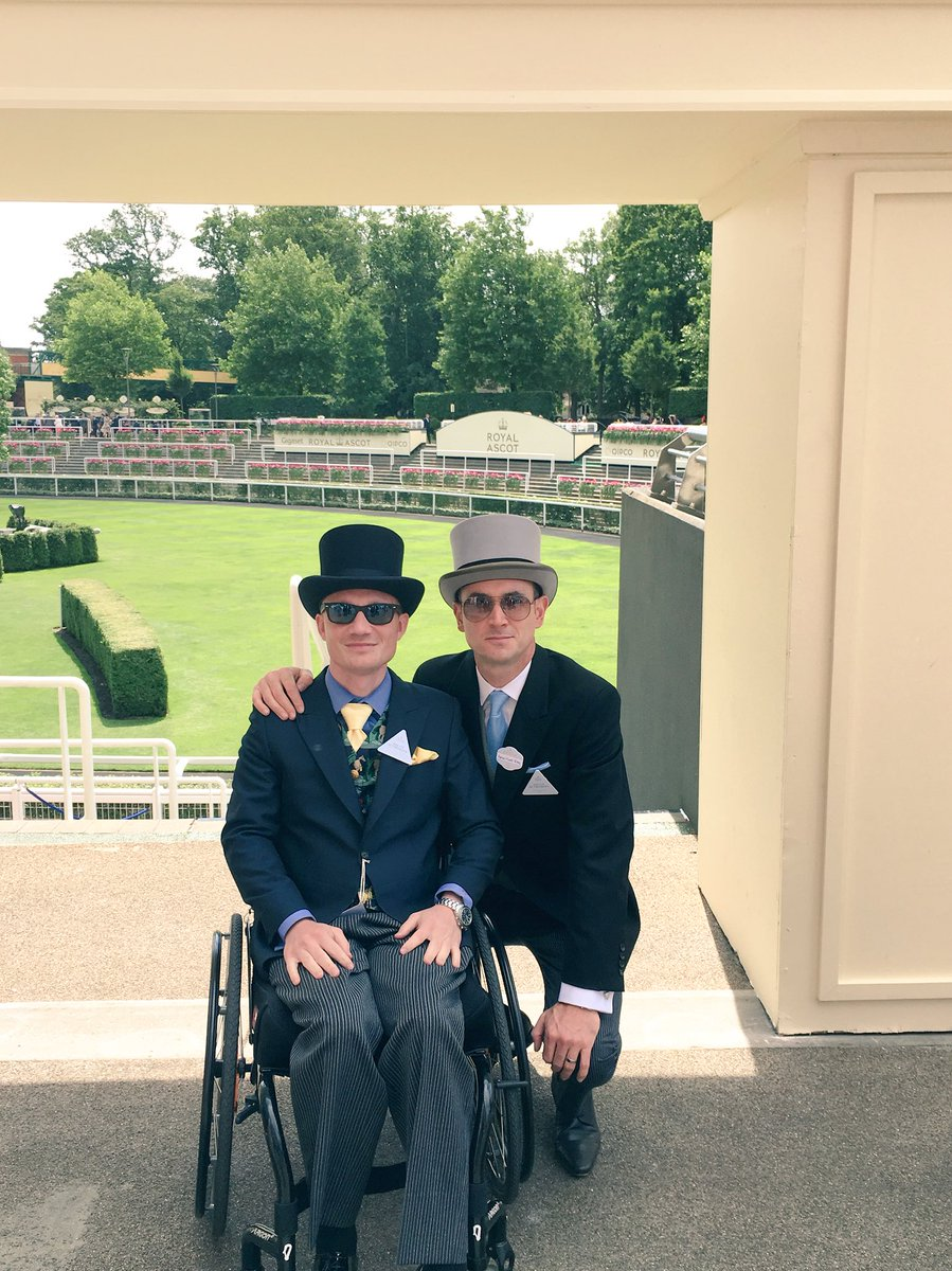 Delighted to be part of the olympics in racing @Ascot with @Spinalphysio #quality <br>http://pic.twitter.com/hUOLtS1YC3