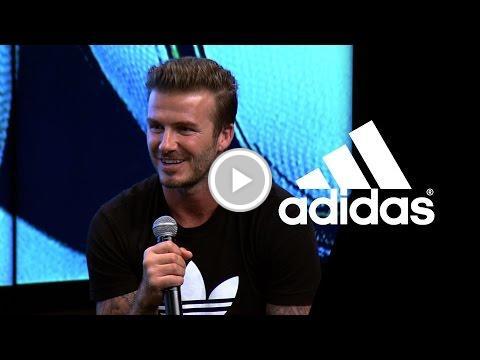 David Beckham on James Rodríguez -- The Dugout Live in Rio -- adidas F...