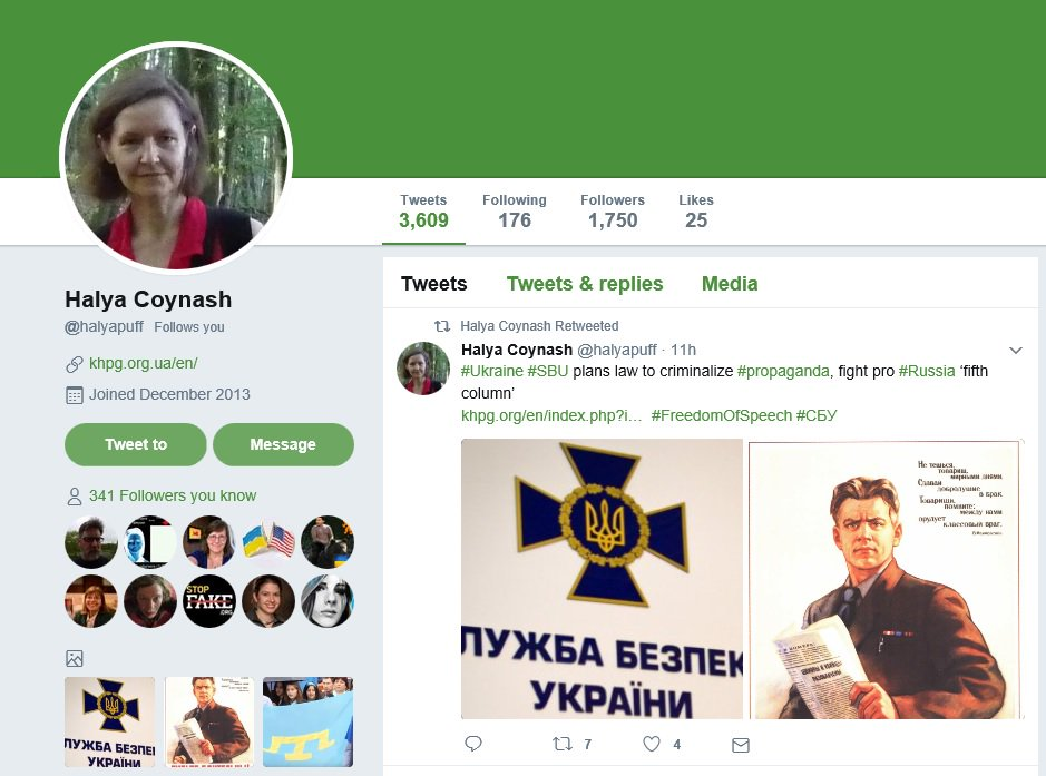 For news about Ukrainian prisoners illegally held by Russia &amp; persecution of Ukrainians in #Crimea/#Donbas, pls follow @halyapuff. #Donbass<br>http://pic.twitter.com/a2p5uExDvl