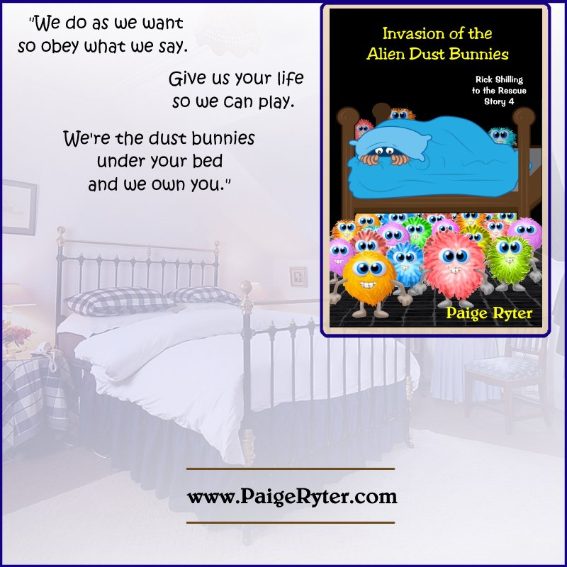 &#39;Invasion of the Alien Dust Bunnies&#39;   Silly clones!    http:// bit.ly/1SW3Z9j  &nbsp;     #Paranormal #Humorous #Sci-Fi #Clone #Alien<br>http://pic.twitter.com/F8hGNdd0bz
