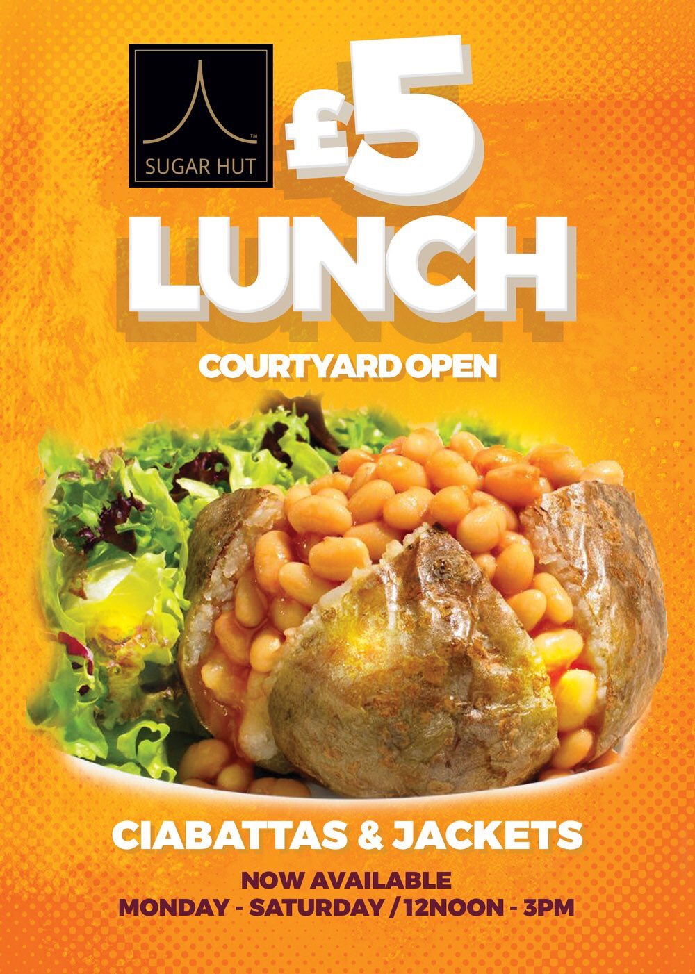 Who doesn't love a £5 lunch 🍴why not enjoy yours in our sunny courtyard ☀️ https://t.co/1DhcNWSiYi