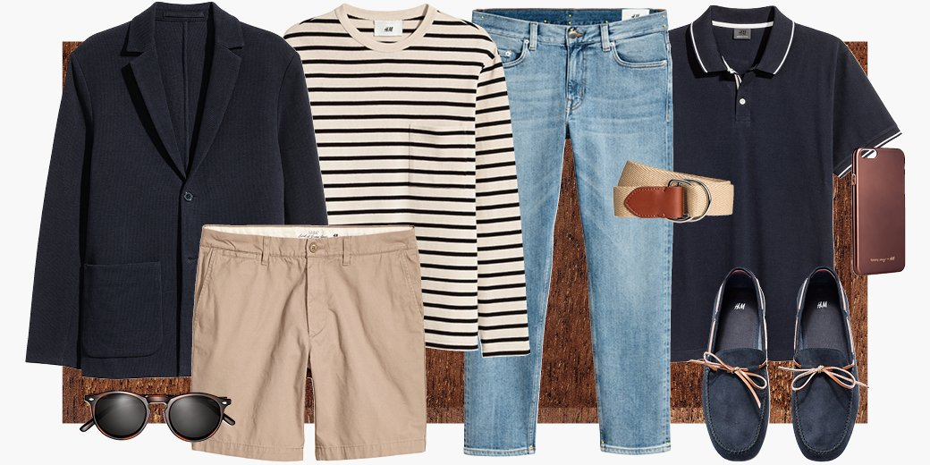 Nail nautical chic with Breton stripes, a canvas belt &amp; the perfect pair of loafers! #HM  Shop now at  http:// hm.info/18pq8  &nbsp;  <br>http://pic.twitter.com/Z9nA65ZXUn