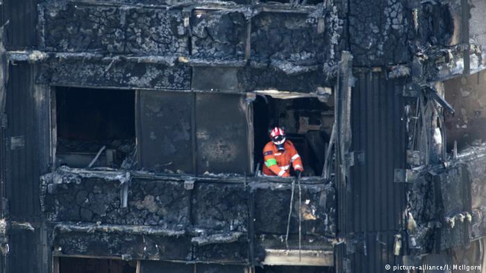 Incêndio em edifício de Londres começou numa geladeira https://t.co/b9BVyVgYm1