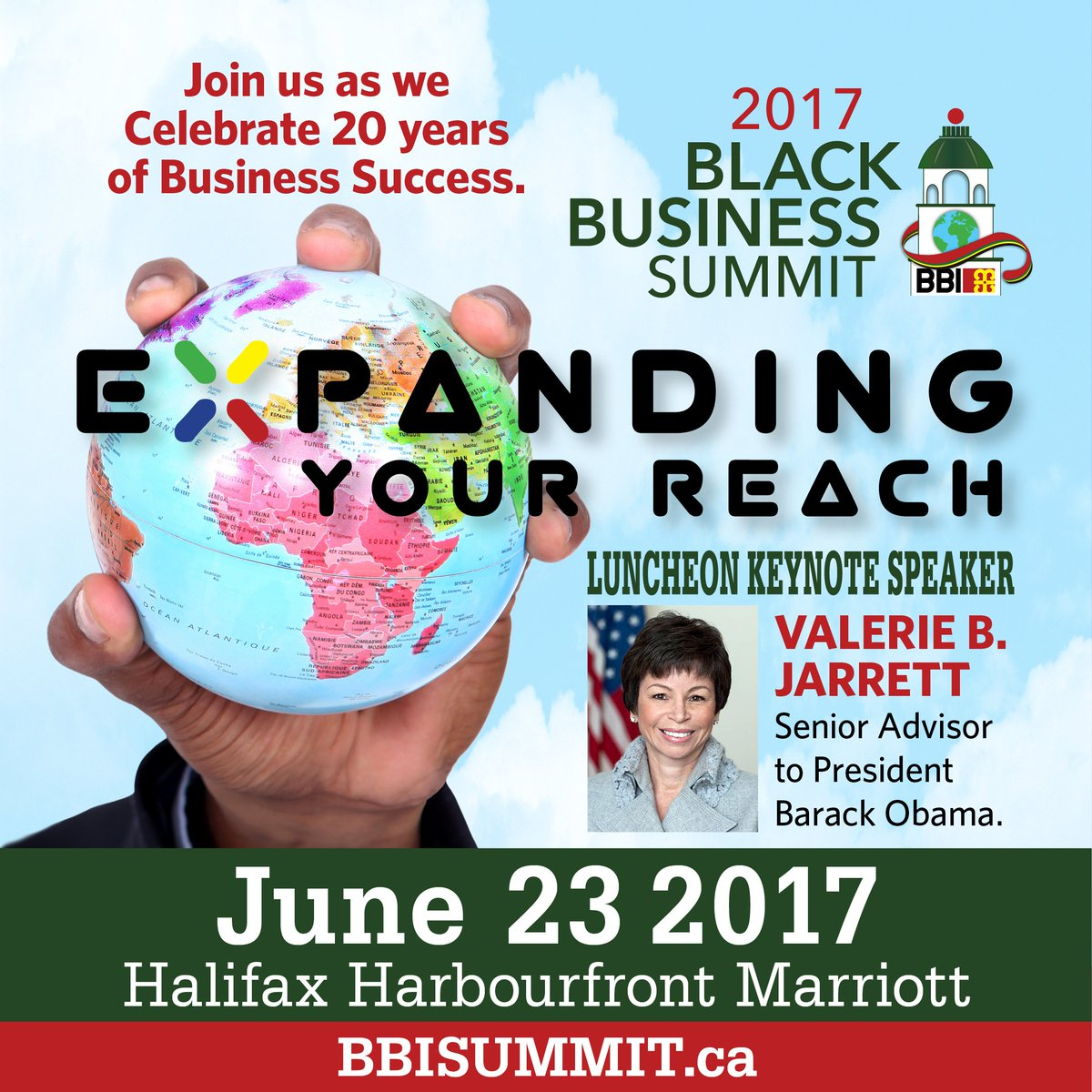 We are beyond excited to welcome @ValerieJarrett, former Senior Adviso...