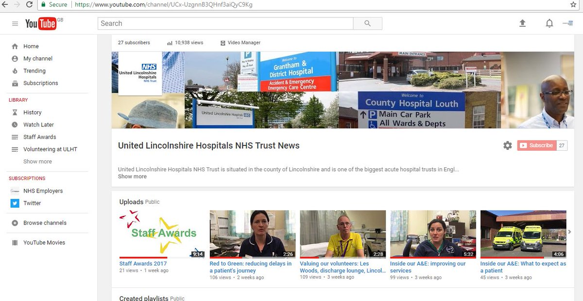 If you've got that #fridayfeeling check out our latest videos on our Y...