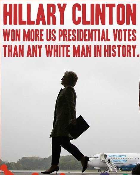 . @POTUS @realDonaldTrump This is your daily reminder that you lost the popular vote BIGLY. #loser #notmypresident #Resistance<br>http://pic.twitter.com/NTSO5AUdKq