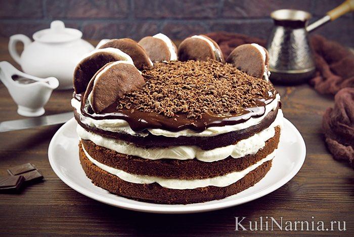 Рецепт фото торт наполеон