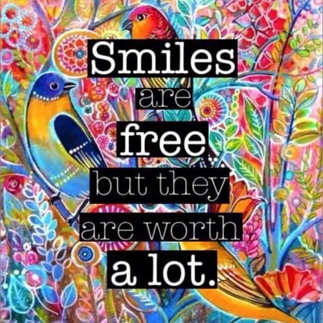 Smiles are free but they are worth a lot | #coach #inspire #motivate #quote <br>http://pic.twitter.com/NFFWkBfyvm