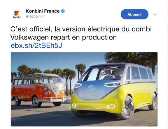 Insolite : en voulant aller à Katmandou avec son combi Volkswagen électrique il tombe en panne sèche à Auxerre.