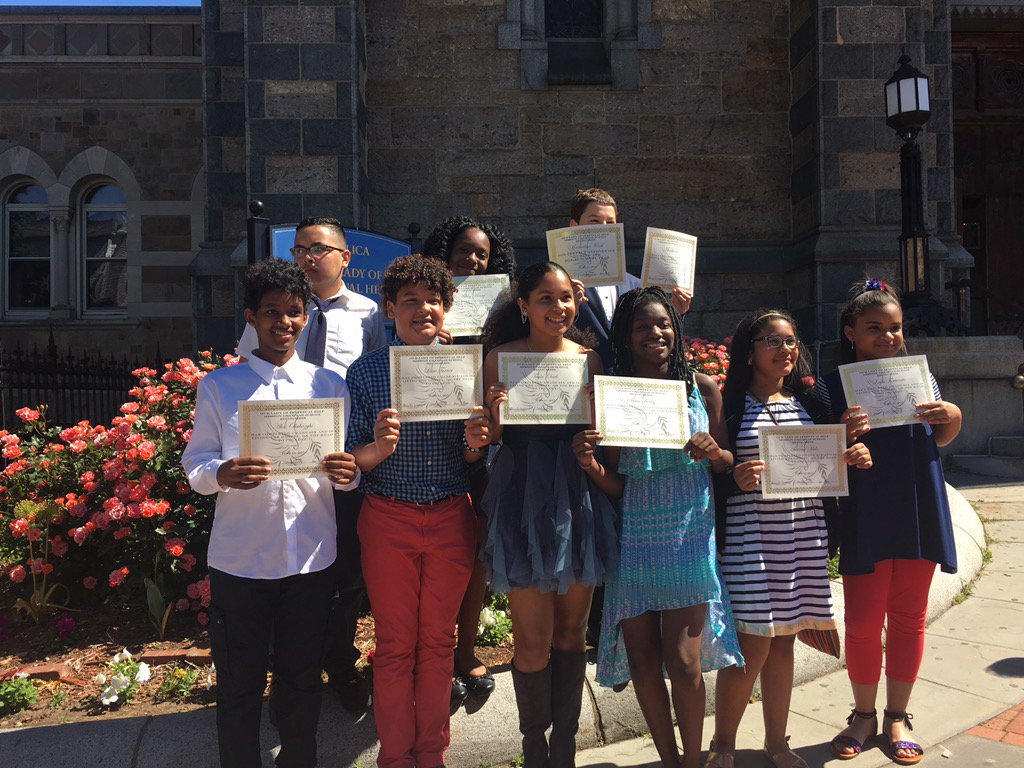 test Twitter Media - These MG scholars are now alumni-Congrats to our new high schoolers! @RCABKMEARS @CHSBoston @BCHigh @CSOboston https://t.co/44OtTCFvfp