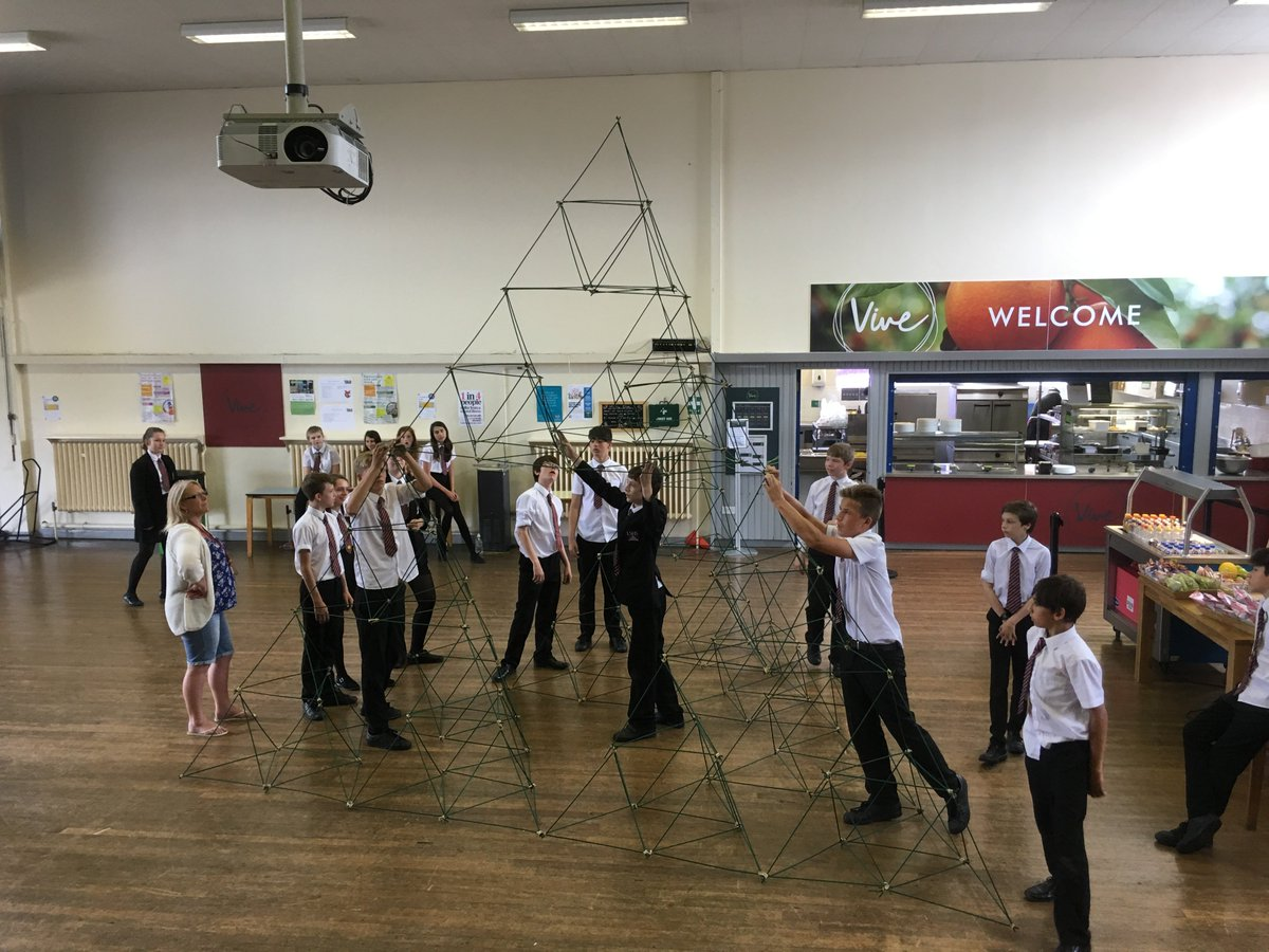 Tetrahedron building in Year Nine Mathematics #LSHSExcellence