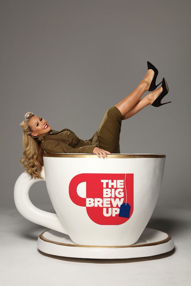 A big thanks to @xkatiewright for showing her support for our #Forces and getting behind SSAFA&#39;s #BigBrewUp  http:// buff.ly/2sqZwXo  &nbsp;  <br>http://pic.twitter.com/mwhii4gRc9