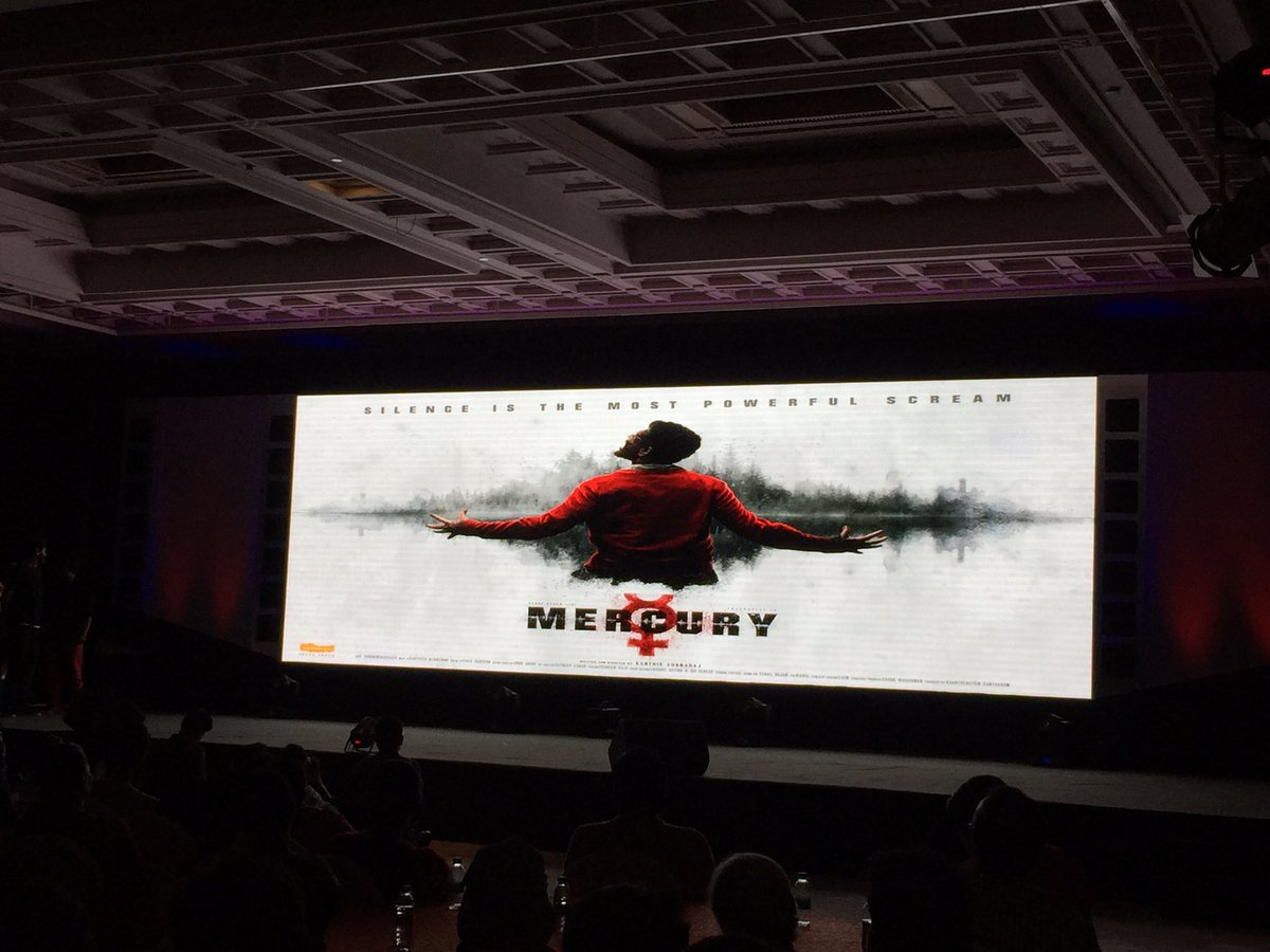 After #Iraivi, #KarthikSubbaraj&#39;s next titled #Mercury with Prabhudeva in the lead.  Said to be a silent film with no dialogues. #Thriller <br>http://pic.twitter.com/vQxQrmpqOu
