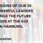 Hey Navy – step up w/ me and be a @GlblCtzn ! Demand that #G20 leaders agree in July to 🆙 support 4 @GPforEducation https://t.co/laLQ7SYS7Q