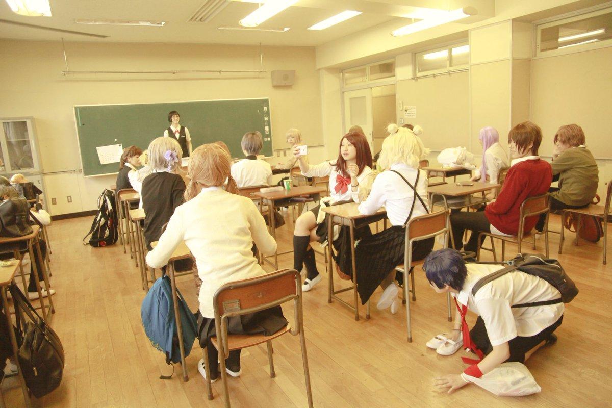 【創作クラス!2年A組】  ようこそ!僕らの2年A組へ!  写真:ミシマヒトミ(@hitomi_msm) 楽しい一時。忘れてきた青春がここにあります。 #創作クラス2年A組